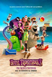 Locandina - Hotel Transylvania 3 [2018]